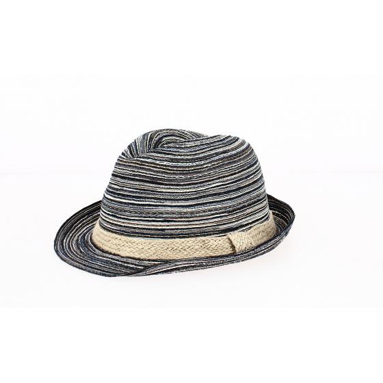 Chapeau Trilby Foggia Coton Océan- Traclet