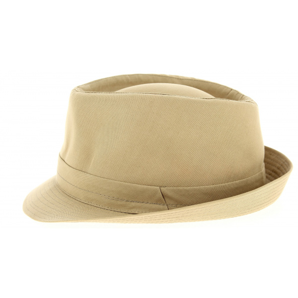Trilby Hats Beige- Traclet