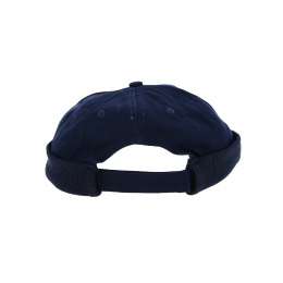 bonnet miki coton marine