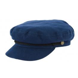 Casquette Fisherman Coton Bleue- Traclet