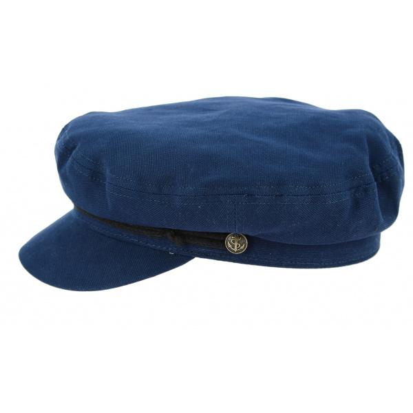 Casquette Fisherman Cotton Blue- Traclet