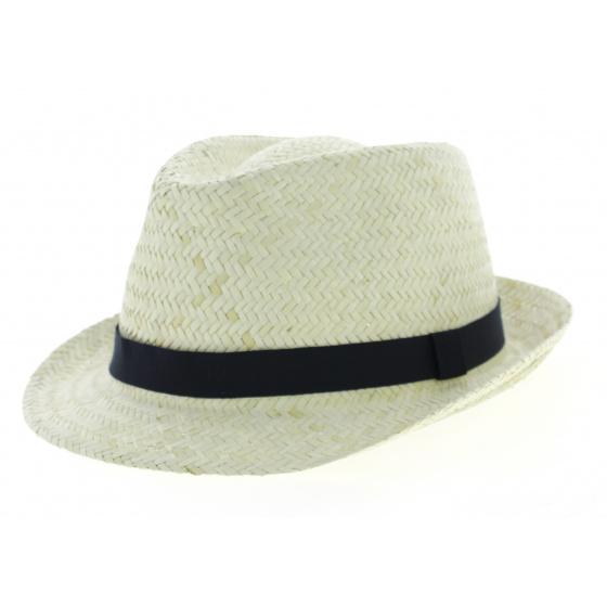 Trilby Hat La Palma Natural Straw - Traclet