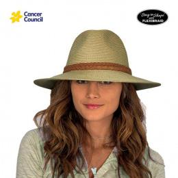 Chapeau Fedora Dallas Mannish Fibres Naturelles Ocre- Rigon Headwear