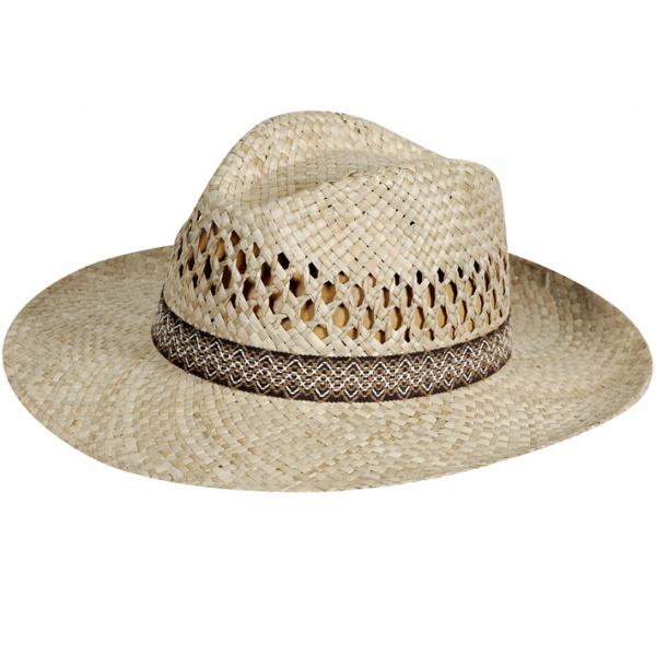Chapeau Fedora Paille Scafati- Traclet