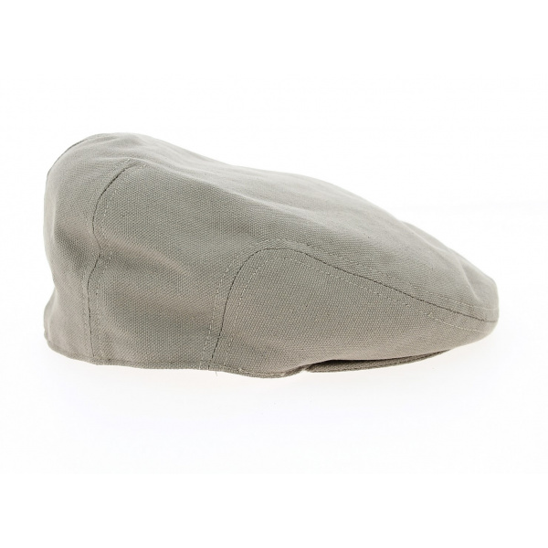Casquette Plate Birghton Lin Beige - Crambes