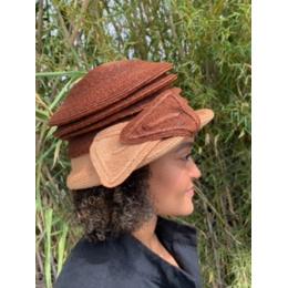 Chapeau de Cérémonie Elyse Paille - Traclet