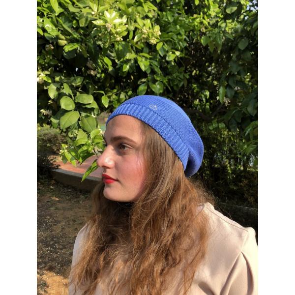 Béret été Elipsse Coton Bleu- BeBeret