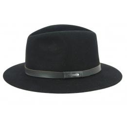 Chapeau Feutre Poil Carrboro Noir- Stetson