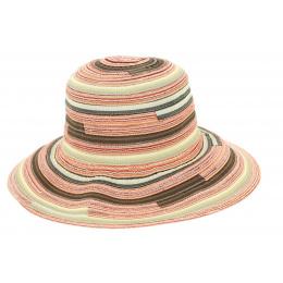 Chapeau Cloche Tissu Patchwork Cynthia- Mtm