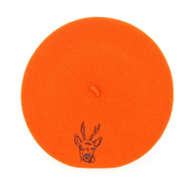 Deer Hunter Orange Beret - Le Béret Français