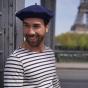 Béret Mode Bleu Denim- Le Béret Français