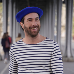 Royal Blue French Beret- Le Béret Français