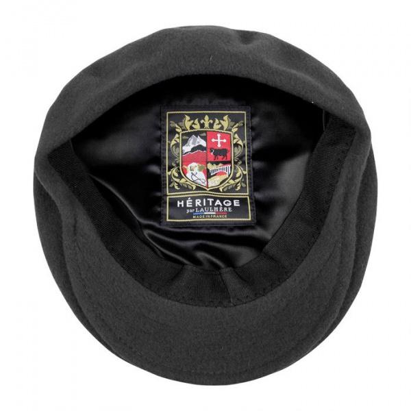 Béret casquette St Jean Noir- Héritage par Laulhère