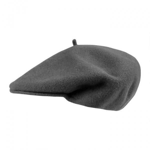 Cap beret St Jean - Anthracite