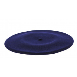 Authentique beret chasseur alpin marine