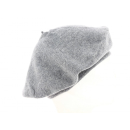 Cashmere Beret Black or Grey - Traclet