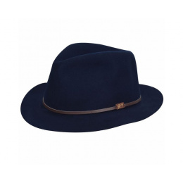 Foldable Jackman Hat Navy - Bailey