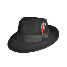 LiteFelt® Fedora Hat Black - Bailey