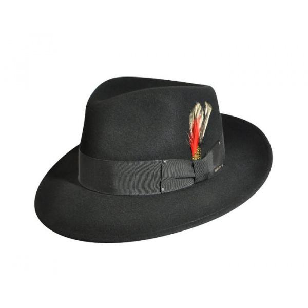 Chapeau Fedora LiteFelt® Noir - Bailey