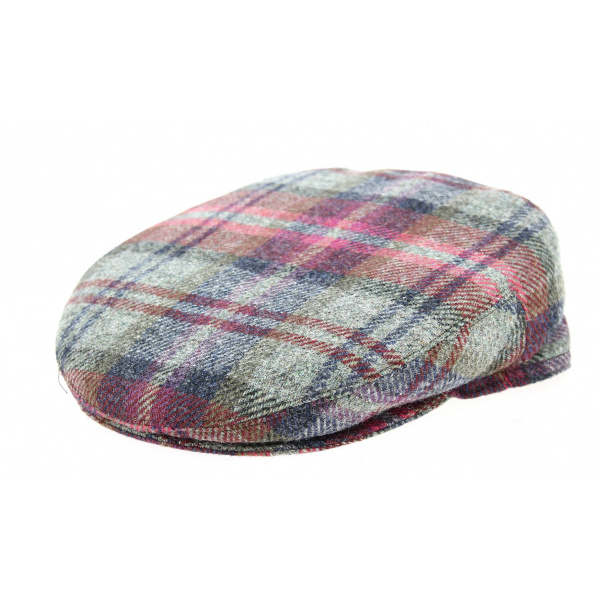 Casquette Plate Edimbourg Laine- Traclet