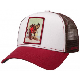 Cap Trucker Horseshoe Bordeaux- Stetson