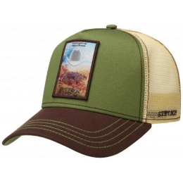 Truck Grew Up Olive Cap - Stetson