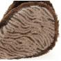 Cache-Oreilles Zèbre Chocolat- Traclet