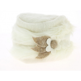 Toque Megève Cream Wool Traclet