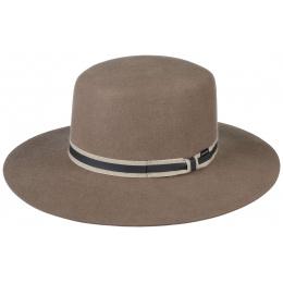 Amish hat Felt wool Brown/Beige - Stetson