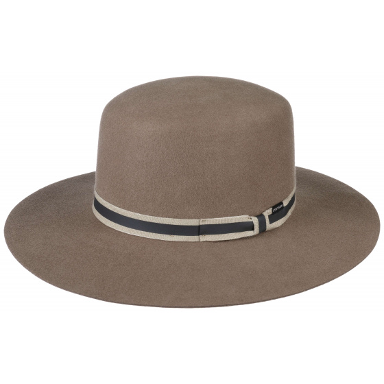 Amish hat Brown/Beige wool felt - Stetson