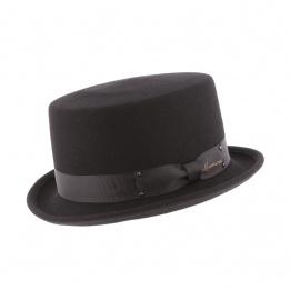 Half Hat Top Hat Don Vegas Black - Herman