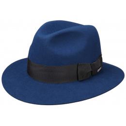 Chapeau Traveller Fury Feutre Poil Bleu Royal- Stetson