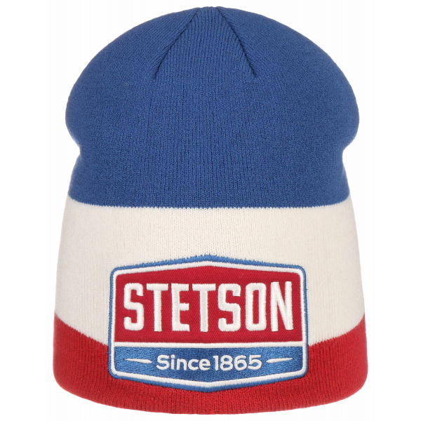 Bonnet Highway Bleu Blanc Rouge- Stetson