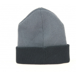 Bonnet Acrylique Pull-On Noir & Gris- Kangol