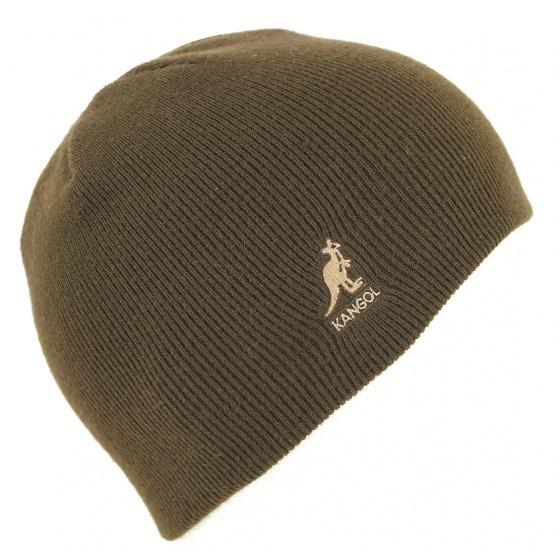 Bonnet Court Acrylique Pull-On Cuffless Marron- Kangol
