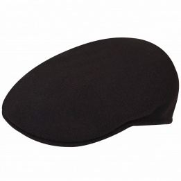 Flat cap 504 Brown Woolen Kangol