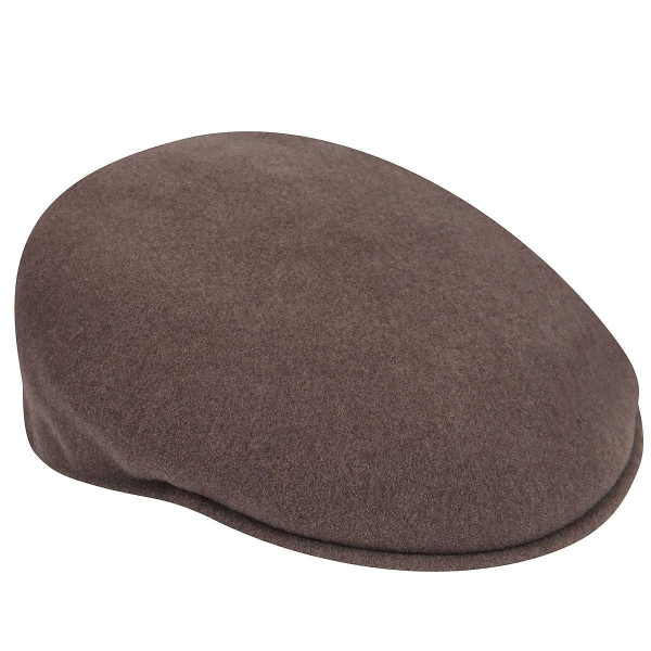 Casquette Plate Kangol 504 Taupe