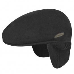 Casquette cache-oreilles noir - Kangol