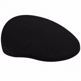 504 Winter Wool Cap Black - Kangol