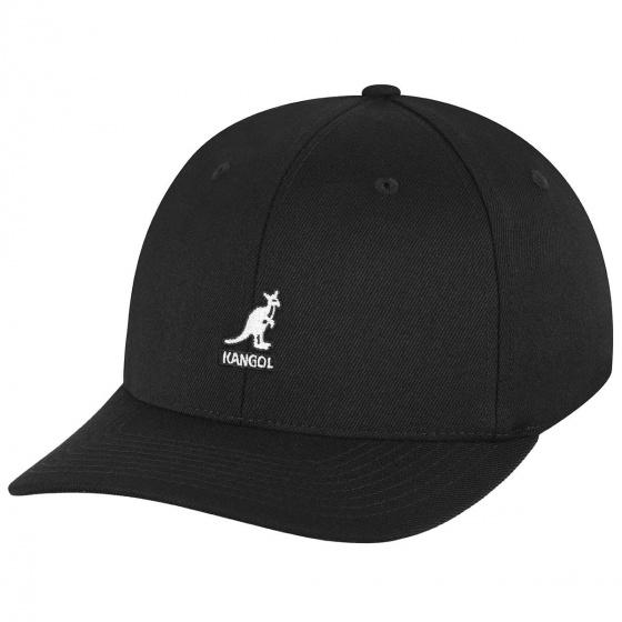 Casquette Baseball noir Flexfit Baseball - kangol