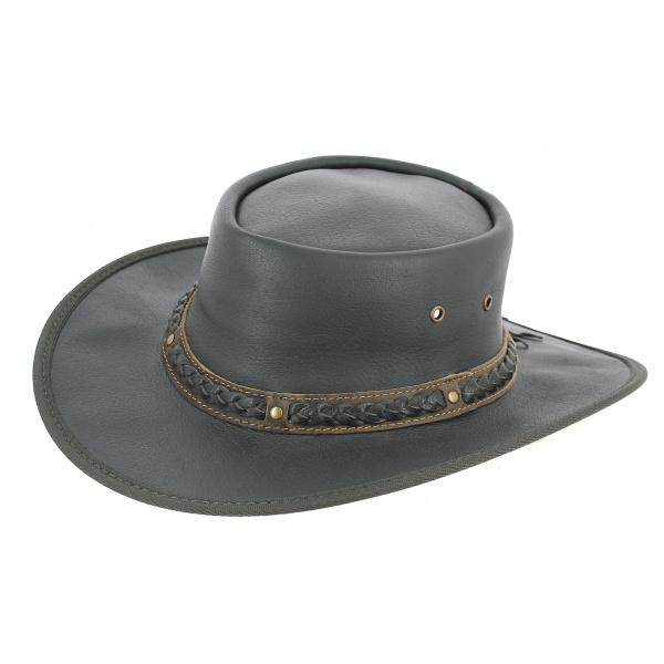 Chapeau Squashy Buffalo Noir