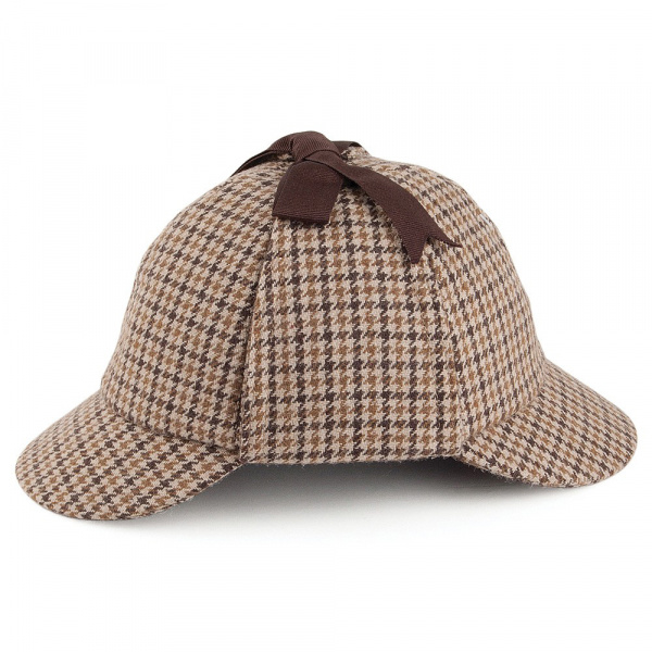 Sherlock Holmes Deerstalker cap - City Sport