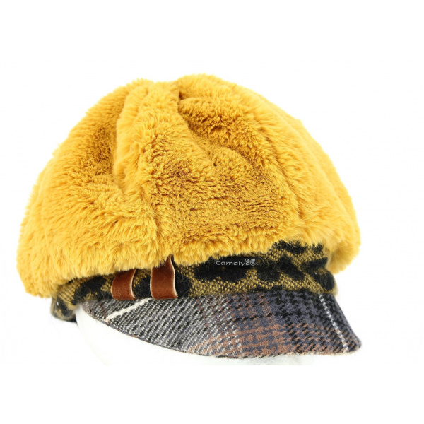 Casquette Gavroche Talange Moutarde- Traclet