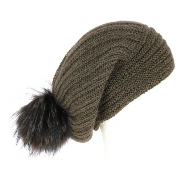 Turban Chimiothérapie Nid d'Abeilles Noir - Christine Headwear