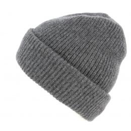 Bonnet à Revers Iggio Cachemire Gris- Traclet