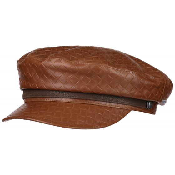 Paragold Sailor Cap Brown Leather Stetson
