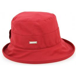 Chapeau Cloche de Pluie Simone Rouge- Seeberger