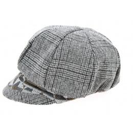 Gavroche Mix Wool Cap Grey- Mtm