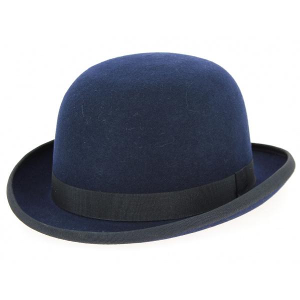 Bowler hat - Red Wool felt