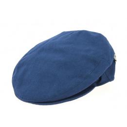 Casquette Plate Clare Coton Bleu - Fléchet